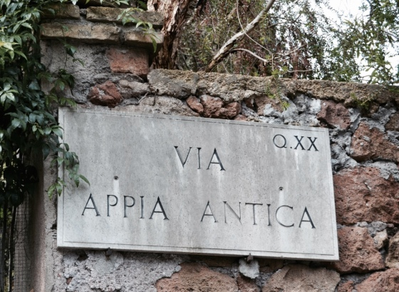 Stone_Sign_Appia_Way_Rietkerks