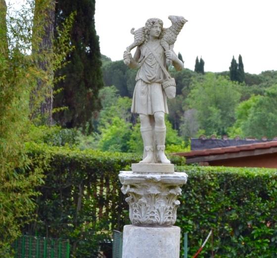 The Good Shepherd, San Callisto Catacombs, Rome