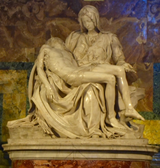 Michelangelo's Pieta, Vatican, Rome
