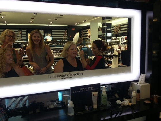 The make-up counter at Sephora. It's amazing how much you'll spend to look just a tad bit younger and refreshed