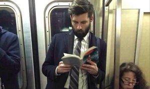 man-reads
