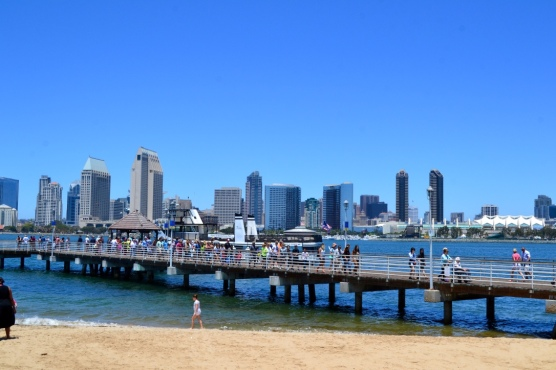 San Diego as seen from Ferry Landing