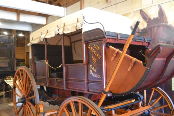 Seeing a stage coach brings back fond memories of 4th grade California history lessons