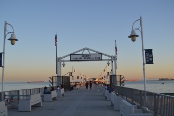 Veteran's Pier--Long Beach